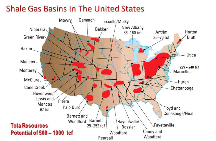 ENVS - Us oil and gas reserves map